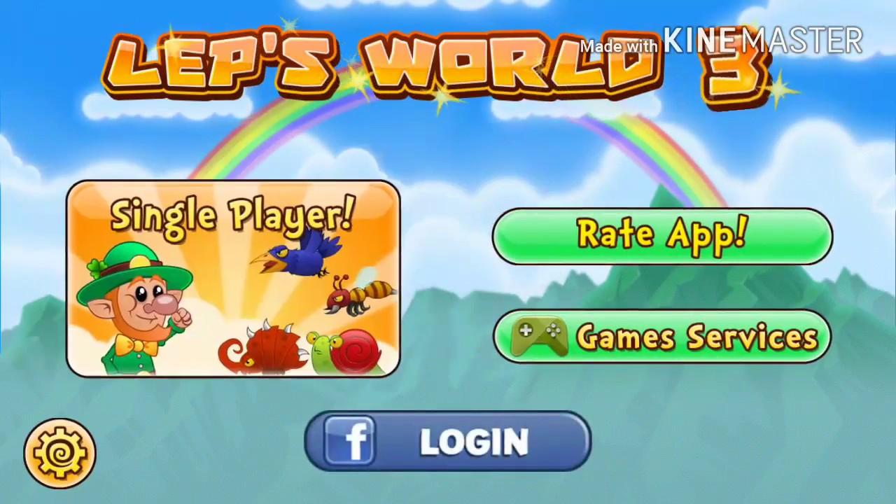 Game Seru Android Tanpa Kuota Offline Part 2 Lep S World 3 Youtube