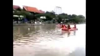 Lomba Dayung HUT Surabaya