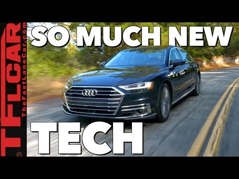 2019 Audi A8 In-Depth Review: Previewing the New Car Tech That's Coming To Your Car Soon!
