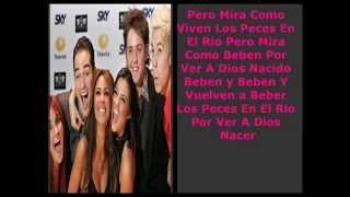RBD Los Peces En El Rio (Lyrics)