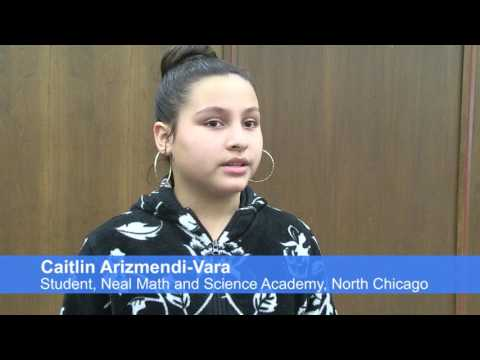 Knowledge Is Power Students From Neal Math and Science Academy Visit Lake County Courts