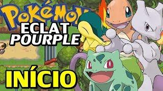 Pokémon Eclat Pourpre (Hack Rom) - O Início