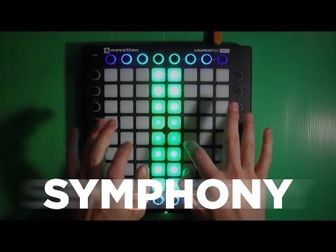 Clean Bandit - Symphony (Robin Hustin Remix) // Launchpad PRO Cover