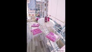 Balkon Dekorasyonu (Yeni Gelin Evlerinden Modeller)