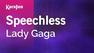 Karaoke Speechless - Lady GaGa *