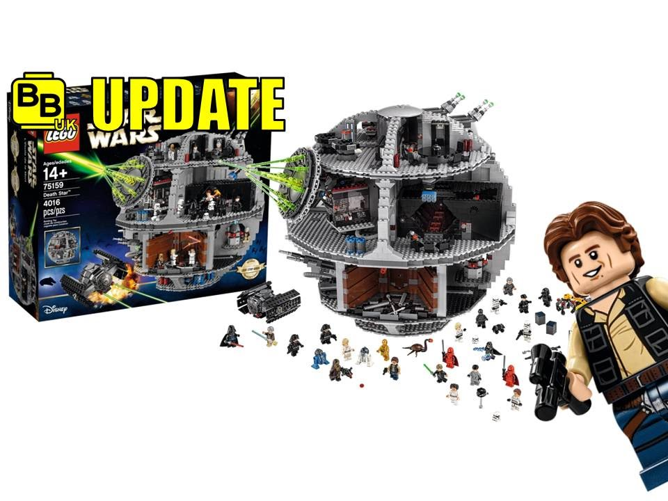 lego star wars 2016 death star 75159 set official images. Black Bedroom Furniture Sets. Home Design Ideas