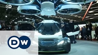 Летающий автомобиль и другие новинки автосалона в Женеве