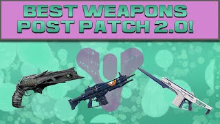 DESTINY - BEST WEAPONS AFTER PATCH 2.0 (3v1 Trials of Osiris)