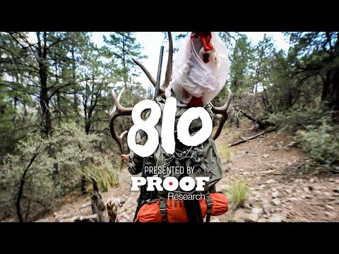 """New Mexico Back Country Elk Hunt - S03 Ep02 - """"810"""""""