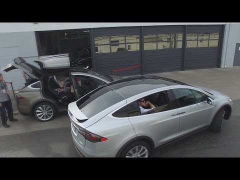 Tesla Model X Redefines the SUV