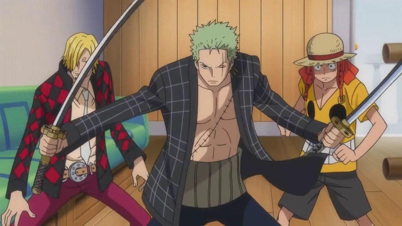 Anime Devil Wallpaper Monster Trio Vs Z One Piece Youtube