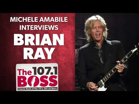 Michele interviews guitarist Brian Ray on 107.1 The Boss