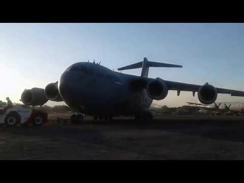 C-17 Globe Master El Salvador