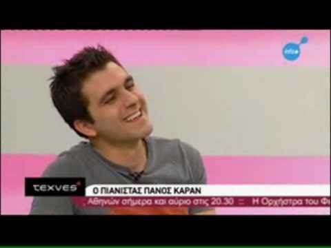Panos Karan interview on Greek TV (ERT Digital) - part 2