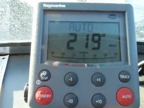 Raymarine Autopilot SP-5XR Demo