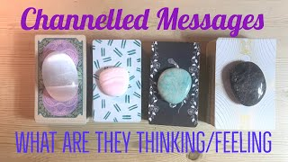 Pick a Card CHANNELLED MESSAGES FROM YOUR PERSON Love Soul Mate Twin Flame Tarot Reading