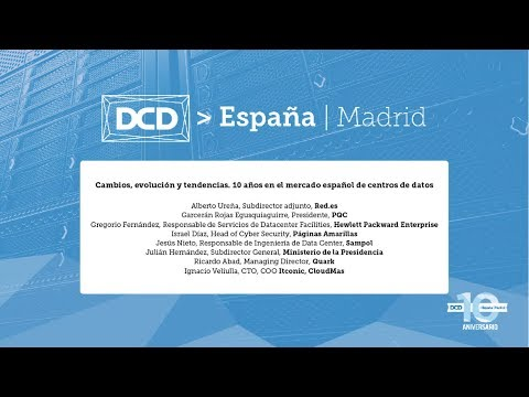 Panel de expertos DCD Madrid 2017