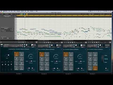 Cinematic Studio Solo Strings | String Quartet Demo
