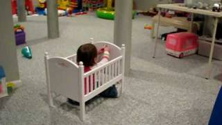 Juliana In The Doll Crib