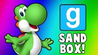 vuclip Gmod Sandbox Funny Moments - Banana Bus Dance, Boxing Arena, Yoshi Player Model (Garry's Mod)