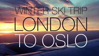 NORWAY FAMILY SKI HOLIDAY LONDON TO OSLO NORWAY |  twoplustwocrew