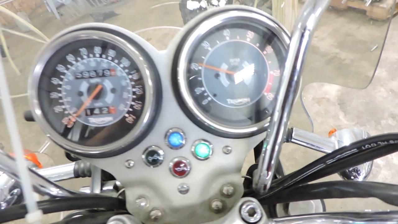 08 Triumph Bonneville T100 Used motorcycle parts for sale