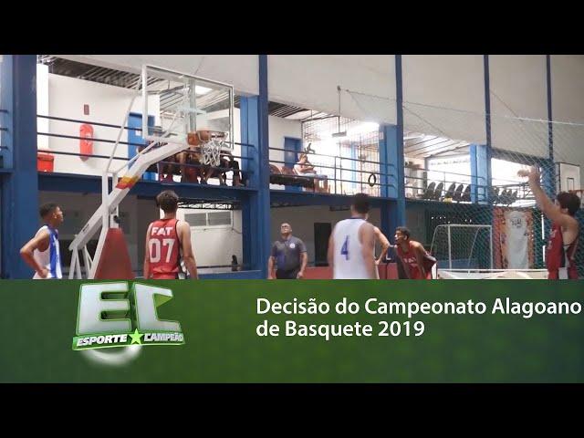 Decisão do Campeonato Alagoano de Basquete 2019