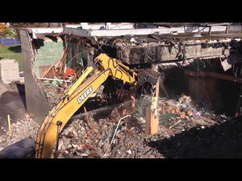 PeaceHealth SHMC University District demolition