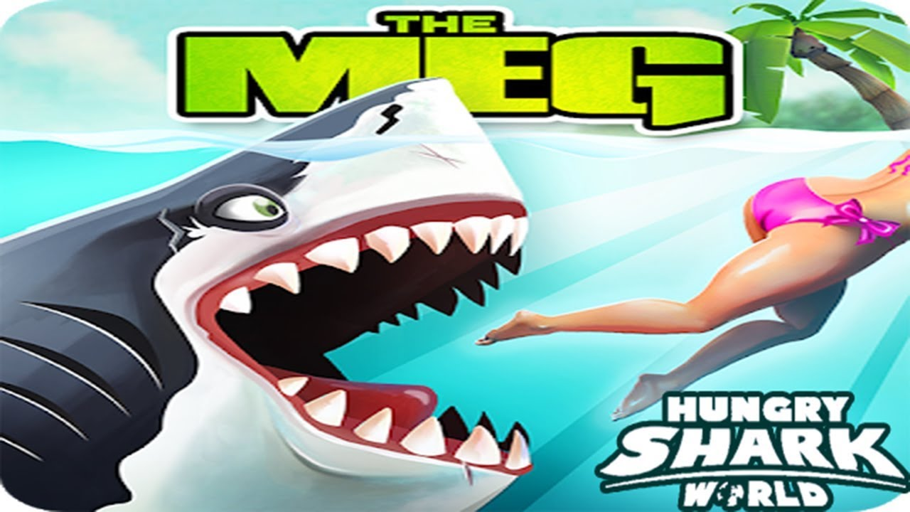 The MEG  New Update Event || Hungry Shark World [FHD-1080p]