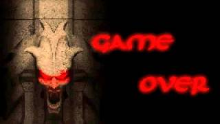 Tomb Raider: The Prophecy - Gameover screen