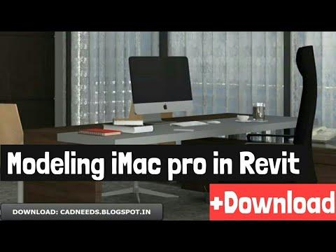 iMac 2018  Family For Revit
