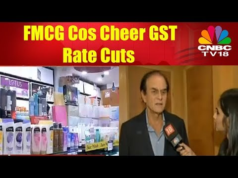 FMCG Cos Cheer GST Rate Cuts
