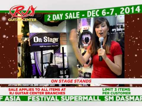 rj guitar center two day christmas sale december 6 and 7 2014 youtube. Black Bedroom Furniture Sets. Home Design Ideas