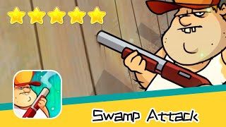 Swamp Attack EPISODE 3 Level 9 Walkthrough Defend Survive Attack! Recommend index five stars