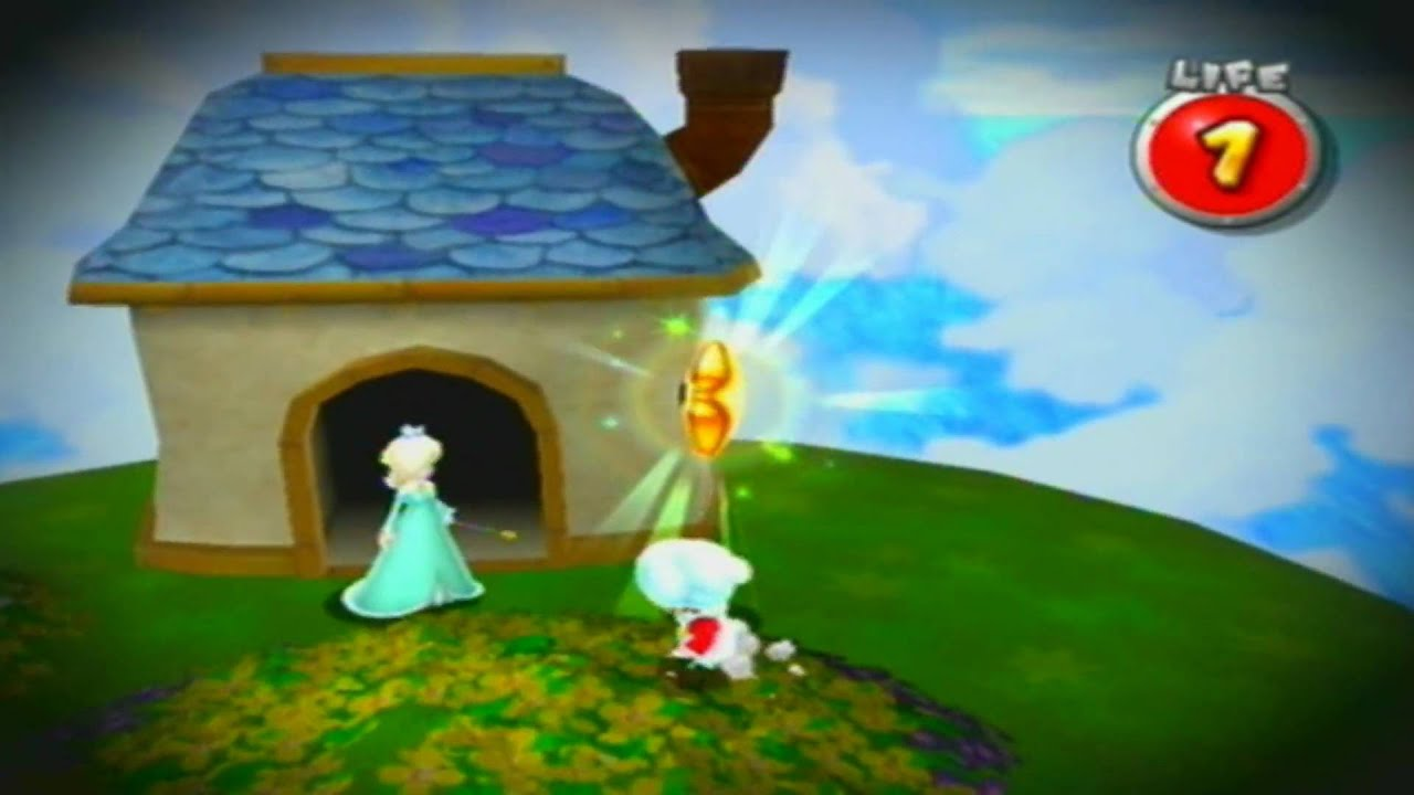 Super Mario Galaxy 2 - Meeting Rosalina (242 Stars) - YouTube