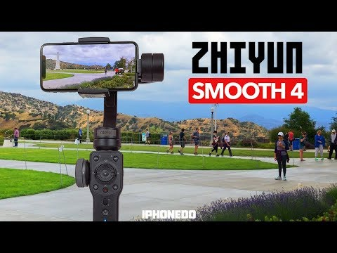 Zhiyun Smooth 4 — In-Depth Review And Comparison To DJI Osmo 2