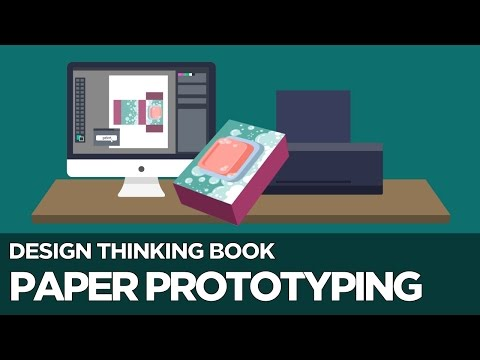 Paper Prototyping - Design Thinking Book