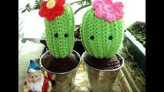 Cactus Amigurumi (Tutorial paso a paso)