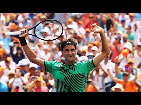 Roger Federer best points 2017 (from Australian Open to Miami)