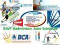 BWF Badminton Tournament June Schedule 2017