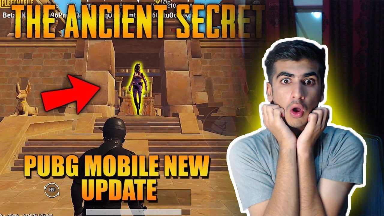 PUBG MOBILE NEW EVENT THE ANCIENT SECRET | PUBG MOBILE EVENT GAMEPLAY | ROYAL PASS GIVEAWAY
