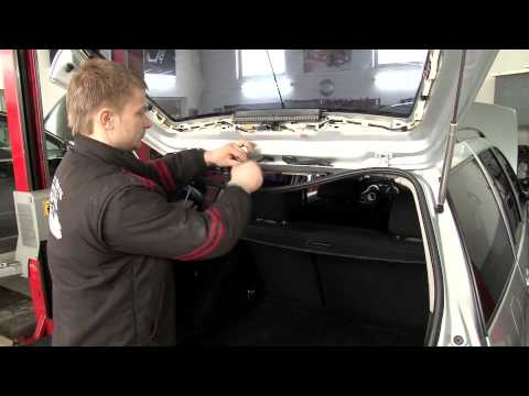 Beispiel: Montage VW Golf 4 Variant - SenCom T.Q. - Kabelbaum Rep.-Satz Heckklappe