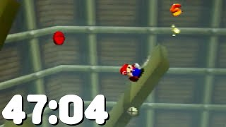 70 Star Speedrun World Record in 47:04.08 - Super Mario 64