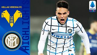 Hellas Verona 1-2 Inter | Martinez & Skriniar Score to Seal Narrow Victory | Serie A TIM