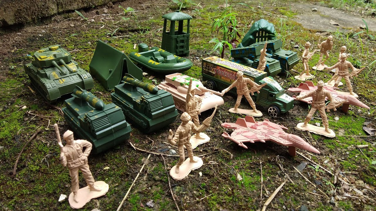 Toy Soldiers Military vehicles, Tanks, Assault Vehicles, Missile Launchers, Trucks and More