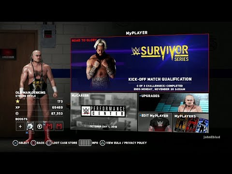 nL Live - WWE 2K18 Road to Glory: Survivor Series Event!