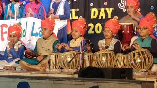 Vihaan's annual day performance