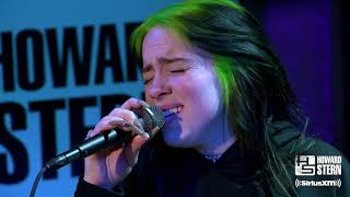"""Download Billie Eilish """"When the Party's Over"""" Live on the Howard Stern Show"""