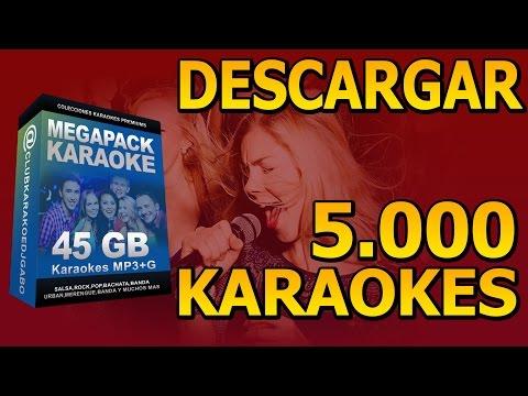 Descargar +5.000 Canciones Karaoke en tu PC - ( 45 GB de Karaokes )