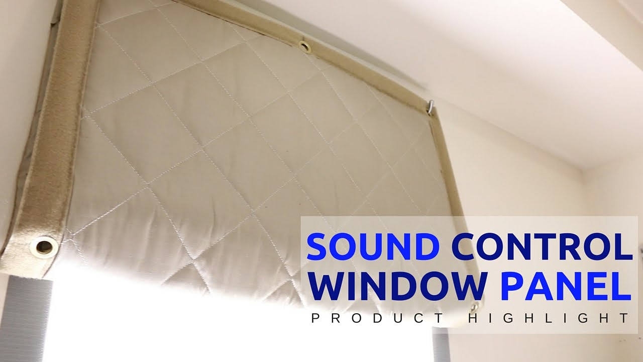 Soundproofing A Window Using A Sound Control Window Panel